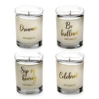 Luna Candle Co., You Did It - Lavendar, Peach, and Vanilla Scented Candles