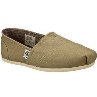 BOBS from Skechers Women's Plush Peace and Love Flat,Taupe