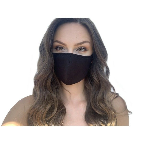 Reusable Women's Fashion Cloth Face Mask with Adjustable Straps. Opens flyout.