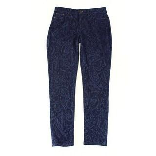 Lauren Ralph Lauren NEW Blue Womens Size 4 Premier Ankle Skinny Jeans