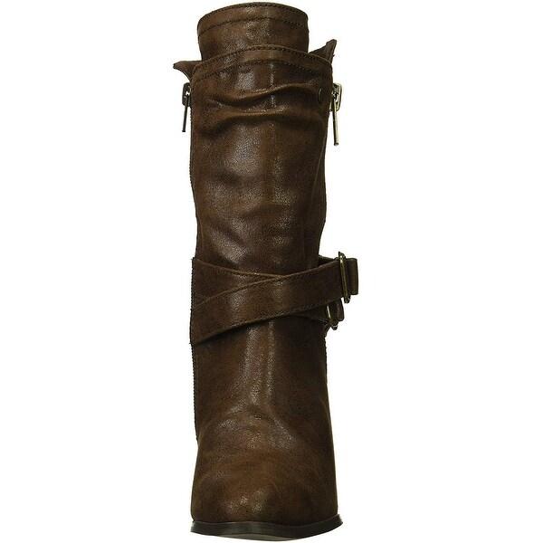 Carlos by Carlos Santana Womens Paisley Fashion Boot