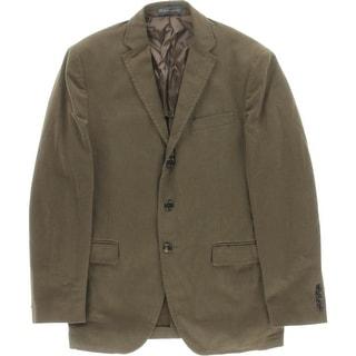 Polo Ralph Lauren Mens Custom Fit Cotton Three-Button Blazer