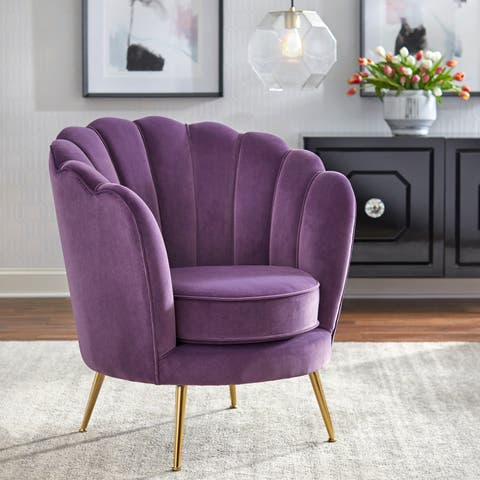 angelo:HOME Twila Scalloped Back Chair