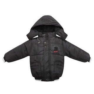 Richie House Boys' Padded sport Jacket with patch embroidery