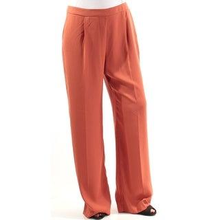 BAR III $69 Womens New 1115 Orange Straight leg Wear To Work Pants 8 B+B