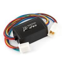 Unique Bargains Car Brake Lamp Flash Controller Flasher Module for Halogen Light DC 12V