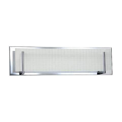 AA Warehousing ACELEIGH 4-Light Bathroom Vanity Fixture - white
