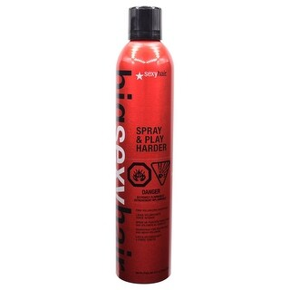 Sexy Big Sexy Hair Spray and Play Harder Firm Volumizing Hairspray 10.0 oz