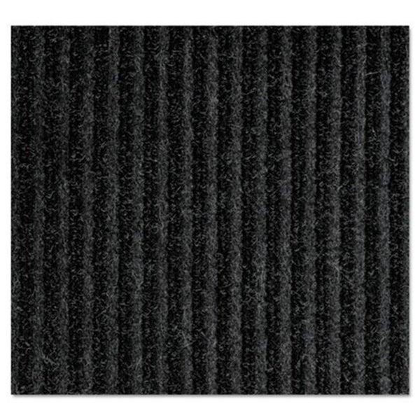 Crown Mats & Matting NR0035CH 36 x 60 in. Needle Rib Wipe & Scrape Mat Polypropylene - Charcoal