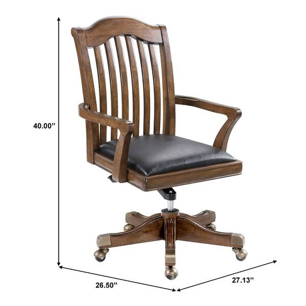 Shop Walnut Finish Home Office Chair Overstock 31221970