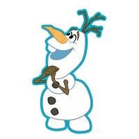 "Disney's Frozen Soft Touch PVC Magnet: ""Olaf"" - Multi"