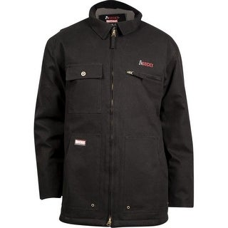 Rocky Work Jacket Mens Quality Worksmart Waterproof Chore WW00003