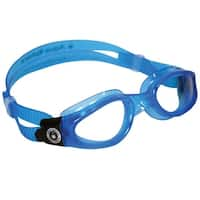 Aqua Sphere Kaiman Small Fit Clear Lens Swim Goggles - Blue