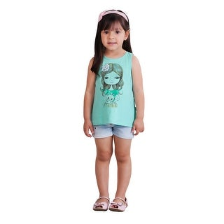 Pulla Bulla Toddler Girl Tank Top Graphic Sleeveless Shirt