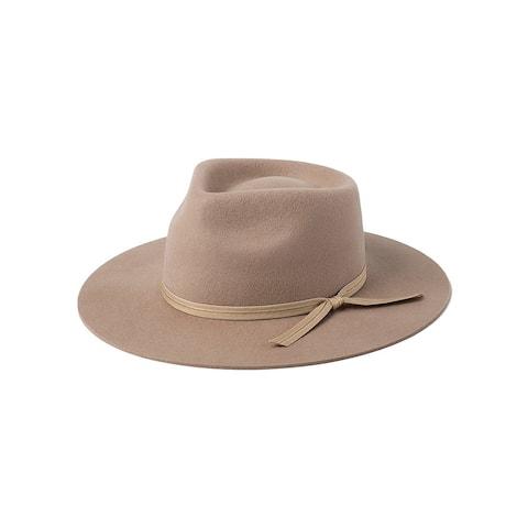 Lack of Color Womens Lulu II Sand Felt Fedorah Hat