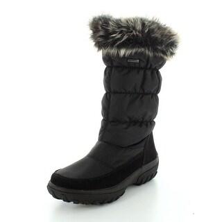 Spring Step Women's Vanish Snow Boot - Black - 41 m eu / 9.5-10 b(m) us