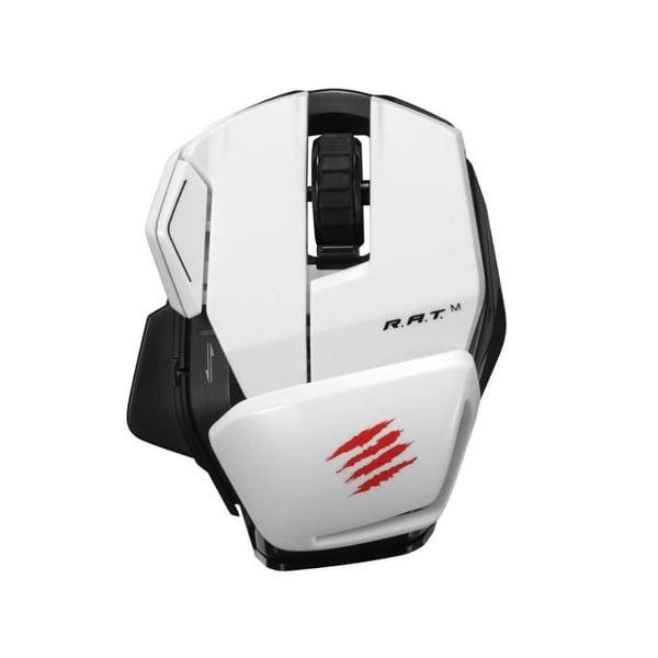 Mad Catz MCB437170001/04/1 Office R.A.T. M Bluetooth 3.0 Optical Mouse White