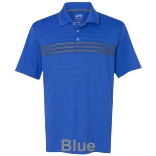 adidas - Golf Puremotion Three Stripe Chest Polo