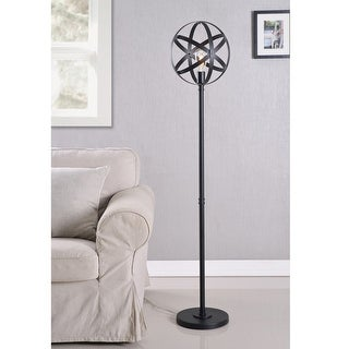Link to Gyroscope Black Floor Lamp with Bulb Similar Items in Floor Lamps