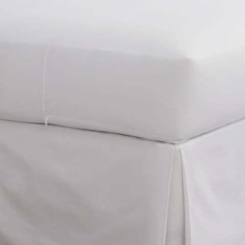 Martex Purity White Mattress Protector powered by SILVERbac