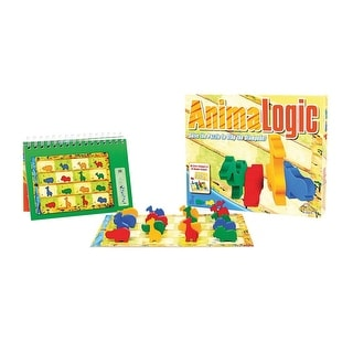 Fat Brain Toys Animallogic Sequence Puzzle And Game - multi-colored