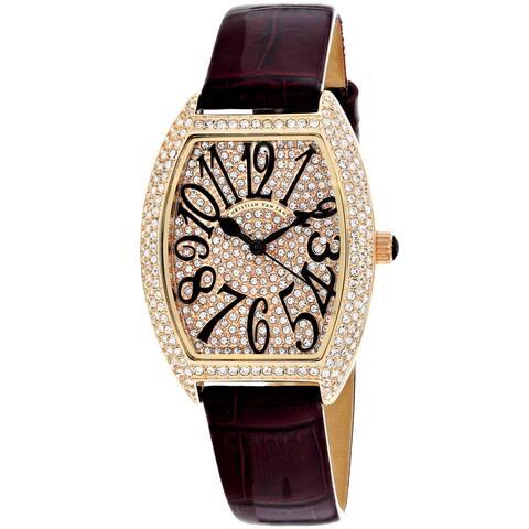 Christian Van Sant Women's Elegant Rose gold Dial Watch - CV4822 - One Size
