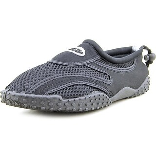 Easy USA Wave Men Round Toe Synthetic Black Water Shoe