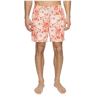 Tommy Bahama Naples Turtle Cove Swim Trunks Lava Flow Mens Swimwear Bottoms