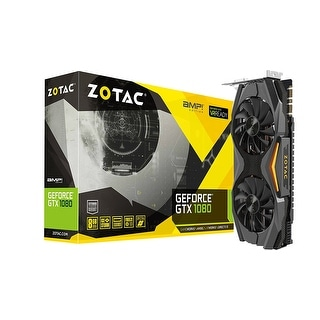 Zotac Video Card Zt-P10800c-10P Gtx 1080 Amp Edition 8Gb Gddr5x 256-Bit Pci Express 3Xdisplayport/Hdmi Retail
