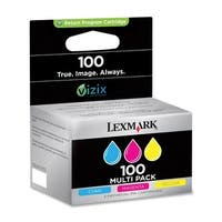 Lexmark 14N0685 Lexmark No. 100 Return Program Ink Cartridge - Cyan, Magenta, Yellow - Inkjet - 3 / Pack