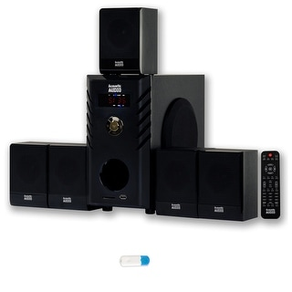 Acoustic Audio AA5104 Home Theater 5.1 Speaker System with USB Bluetooth Surround Sound