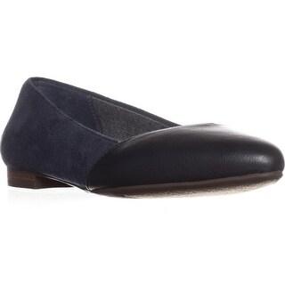 Dr. Scholl's Allow Comfort Ballet Flats, Navy - 6 us / 36 eu