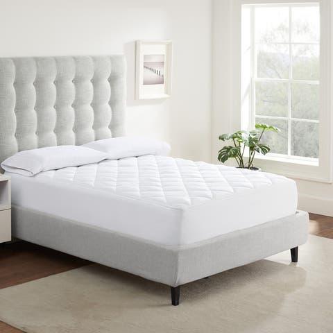 Serta Extra Comfort Mattress Pad - White