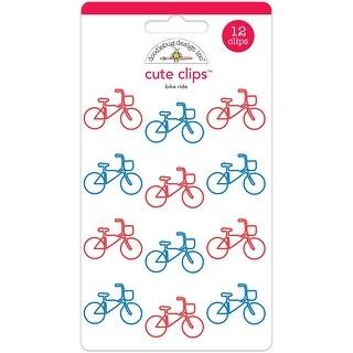 Doodlebug Cute Clips 12/Pkg-Bike Ride