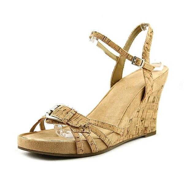 d589ba77ff93 Shop Aerosoles Plush Around Women Cork Combo Sandals - Free Shipping ...