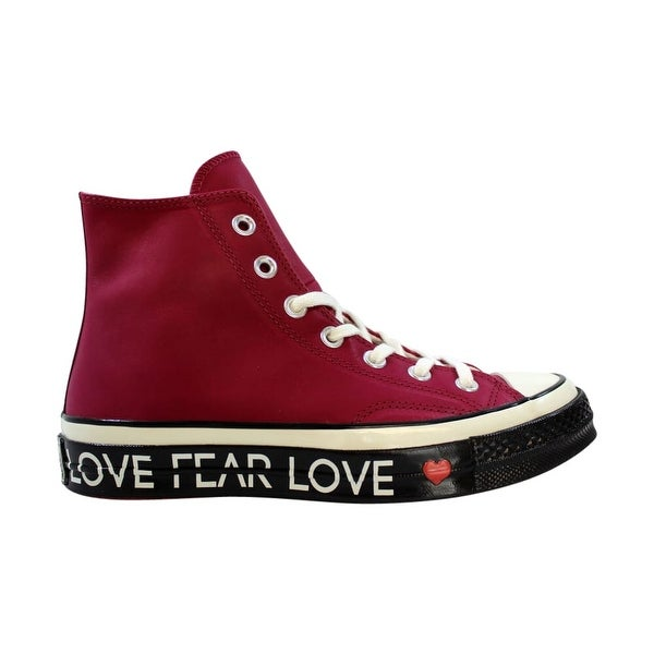 Shop Converse Chuck 70 Hi RhubarbEgret Black Love Graphic