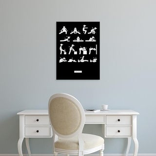 Easy Art Prints GraphINC's 'Workout' Premium Canvas Art