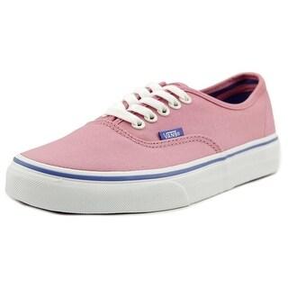 Vans Authentic Women Round Toe Canvas Pink Skate Shoe