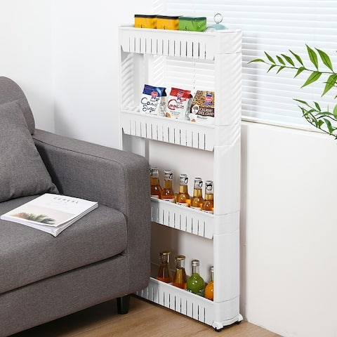Rolling Pull-out Narrow Storage Tower