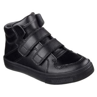 Skechers 91822 BBK Boy's BRIXOR - DAPPER KICKZ Sneaker
