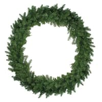"48"" Northern Pine Artificial Christmas Wreath - Unlit - Green"