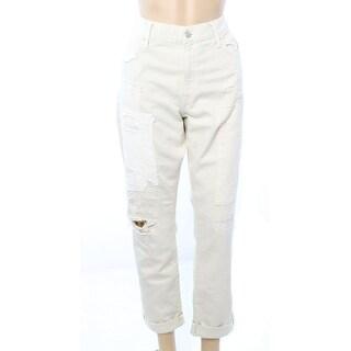 Polo Ralph Lauren NEW Ivory Women's Size 26X26 Slim Boyfriend Jeans