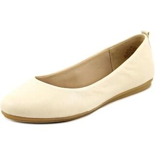 Easy Spirit Get City Women W Round Toe Leather Flats