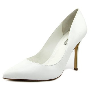 BCBGeneration Treasure Women Pointed Toe Leather White Heels