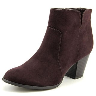 Style & Co Charlees Round Toe Synthetic Bootie