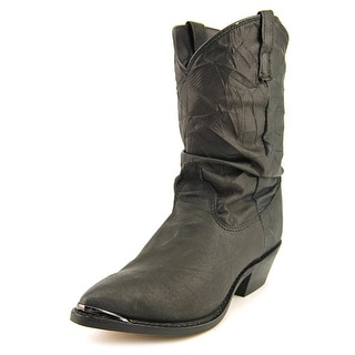 Dingo Pig Slouch   Round Toe Leather  Boot