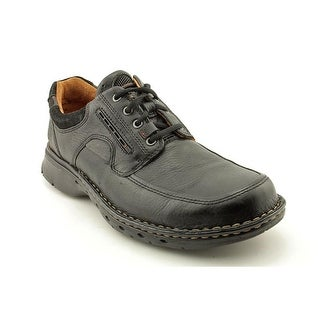 Unstructured By Clarks Un.Bend Men Round Toe Leather Fashion Sneakers