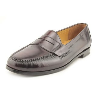 Cole Haan Pinch Penny Men Round Toe Leather Brown Loafer