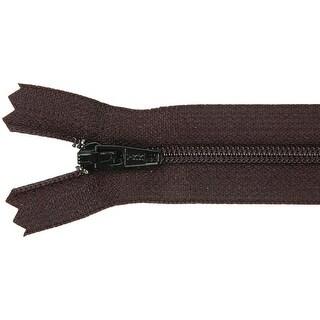 "Ziplon Coil Zipper 16""-Black - Black"