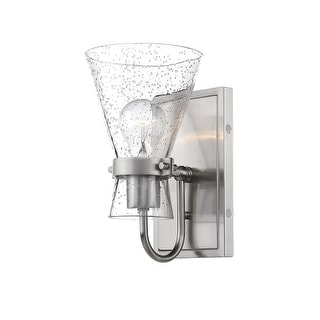 """Millennium Lighting 2331 Layton Single Light 5-1/2"""" Wide Bathroom Sconce with Glass Shade - Brushed nickel"""